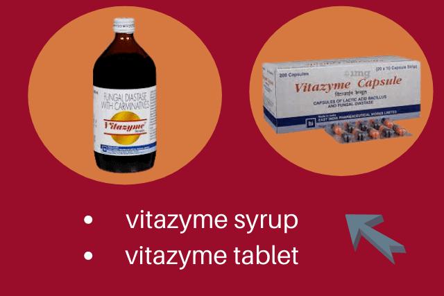 vitazyme tablet and vitazyme syrup benefits uses