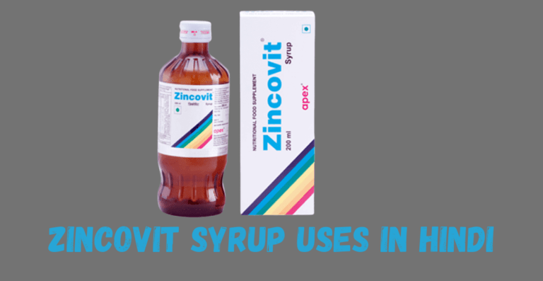 zincovit syrup uses in hindi